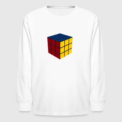 Game Cube SOLVED - Kids' Long Sleeve T-Shirt