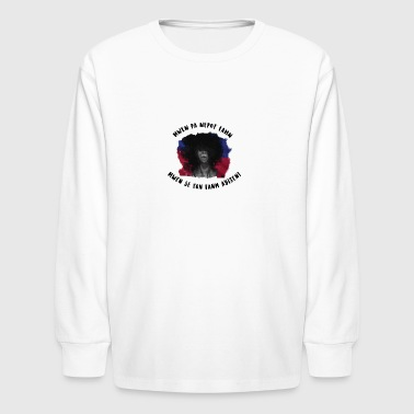 haitianwnewtransp - Kids' Long Sleeve T-Shirt