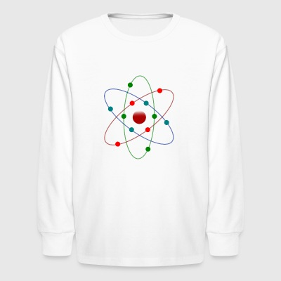 Atom Color - Kids' Long Sleeve T-Shirt