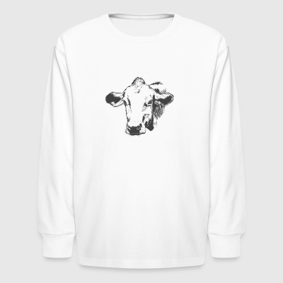 Gorgeous Cow - Kids' Long Sleeve T-Shirt