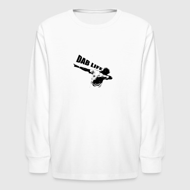 Dab Life - Kids' Long Sleeve T-Shirt