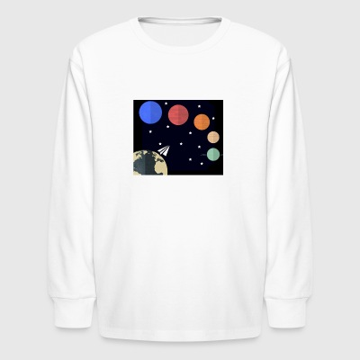 galaxy - Kids' Long Sleeve T-Shirt