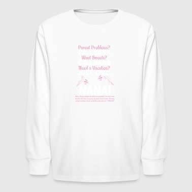 A Vacation Just Call Nana T Shirt - Kids' Long Sleeve T-Shirt