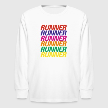 Runner T-Shirt - Kids' Long Sleeve T-Shirt