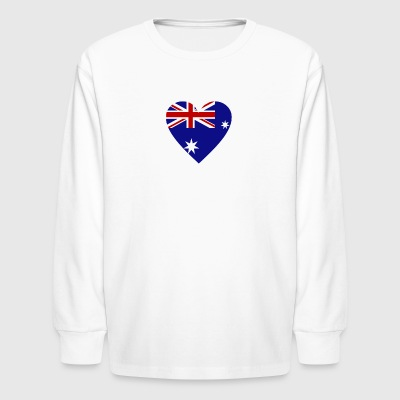 Australia Shirt - Kids' Long Sleeve T-Shirt