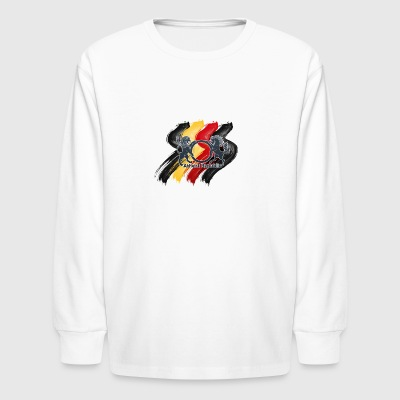 RBYPaintARLogo - Kids' Long Sleeve T-Shirt