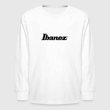 Ibanez black - Kids' Long Sleeve T-Shirt