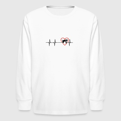 highjump design - Kids' Long Sleeve T-Shirt