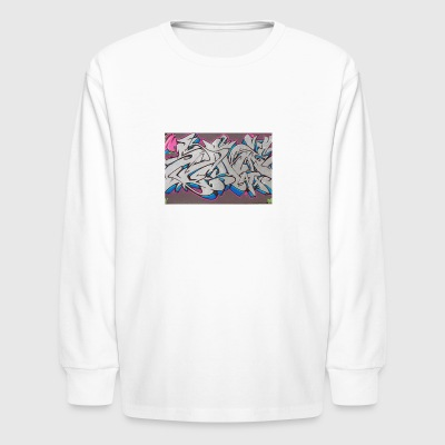 Graffiti10 - Kids' Long Sleeve T-Shirt