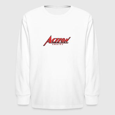 action comics ipl - Kids' Long Sleeve T-Shirt