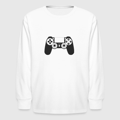 Modern Gaming Controller - Kids' Long Sleeve T-Shirt