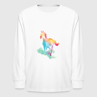 horse 3 - Kids' Long Sleeve T-Shirt