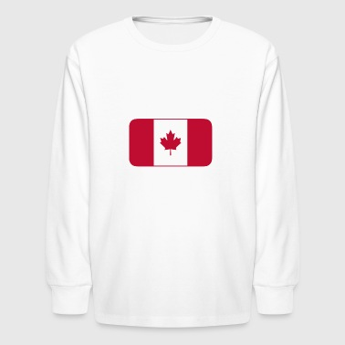 Canadian Flag - Kids' Long Sleeve T-Shirt