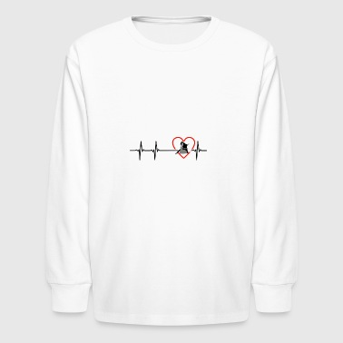 brazilianjiujitsu design - Kids' Long Sleeve T-Shirt
