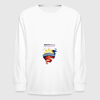 law of health - Kids' Long Sleeve T-Shirt
