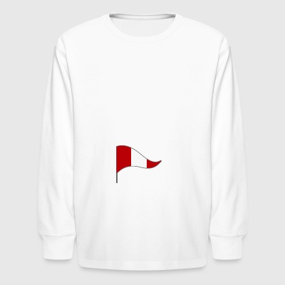 Peru Lima Flag Banner Flags Ensigns - Kids' Long Sleeve T-Shirt