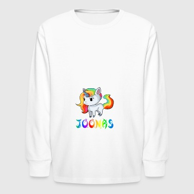 Joonas Unicorn - Kids' Long Sleeve T-Shirt