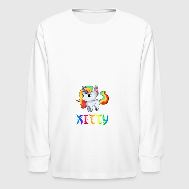 Kitty Unicorn - Kids' Long Sleeve T-Shirt