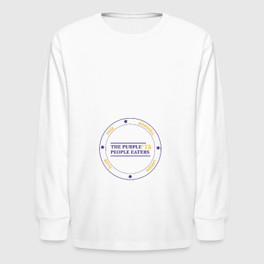 THE PURPLE PEOPLE EATERS - Kids' Long Sleeve T-Shirt