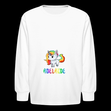 Adelaide Unicorn - Kids' Long Sleeve T-Shirt