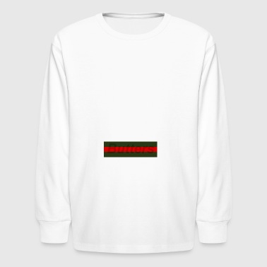 Gucci Box Parody - Kids' Long Sleeve T-Shirt