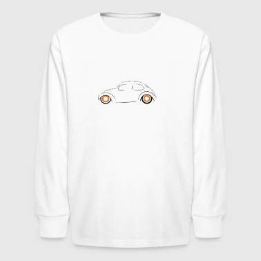 Bug Outlined - Kids' Long Sleeve T-Shirt