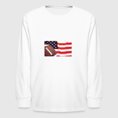 FOOTBALL AMERICAN - Kids' Long Sleeve T-Shirt