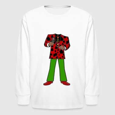 The Red Cow Suit - Kids' Long Sleeve T-Shirt