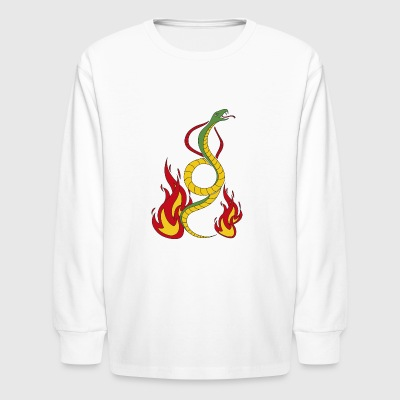 serpent - Kids' Long Sleeve T-Shirt