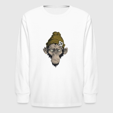 Zombie Monkey - Kids' Long Sleeve T-Shirt