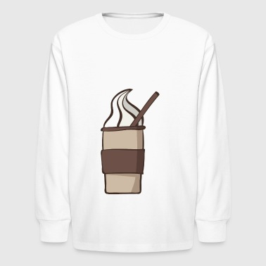 coffee - Kids' Long Sleeve T-Shirt