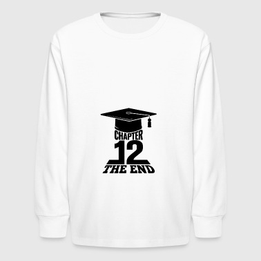 High School Graduation Chapter 12 The End - Kids' Long Sleeve T-Shirt
