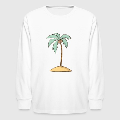 Palm - Kids' Long Sleeve T-Shirt