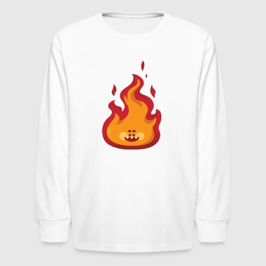 smile flame - Kids' Long Sleeve T-Shirt