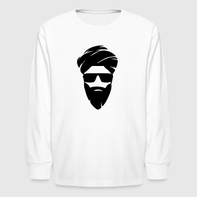 Indian With Turban - Kids' Long Sleeve T-Shirt