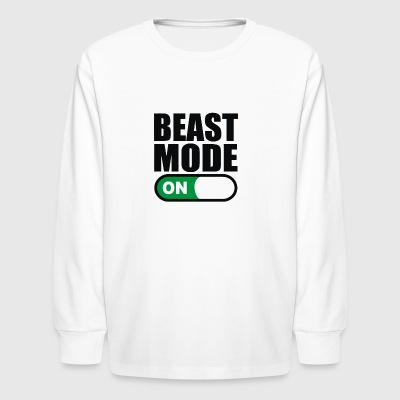Mode On - Kids' Long Sleeve T-Shirt