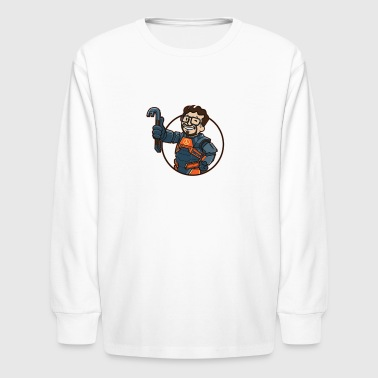 LAMBDA BOY - Kids' Long Sleeve T-Shirt