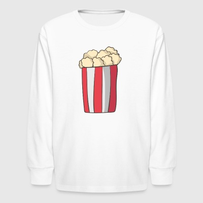Popcorn - Kids' Long Sleeve T-Shirt