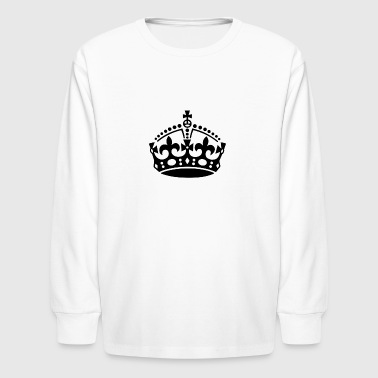 Keep Calm - Kids' Long Sleeve T-Shirt
