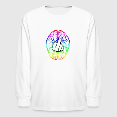 Neuropunk - Kids' Long Sleeve T-Shirt
