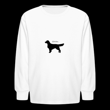 Golden Retriever - Kids' Long Sleeve T-Shirt
