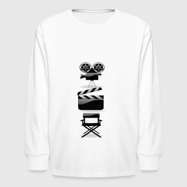 Movie action director - Kids' Long Sleeve T-Shirt