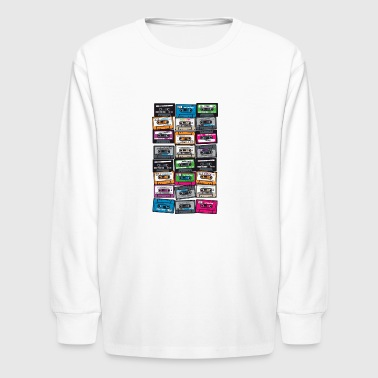 My First Playlist - Kids' Long Sleeve T-Shirt