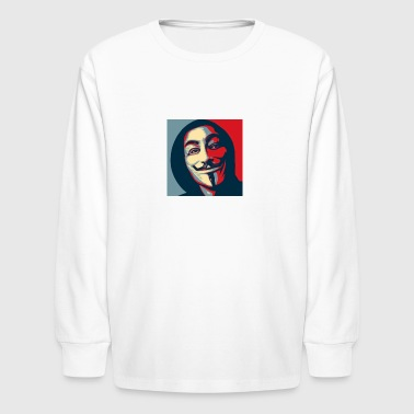 Anonymous Shirt - Kids' Long Sleeve T-Shirt