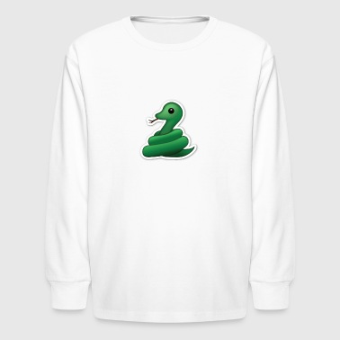 True Snake - Kids' Long Sleeve T-Shirt
