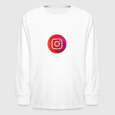 Instagram T-Shirt - Kids' Long Sleeve T-Shirt