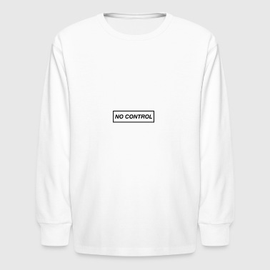No control phone case - Kids' Long Sleeve T-Shirt