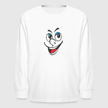 cartoon 2028601 960 720 - Kids' Long Sleeve T-Shirt