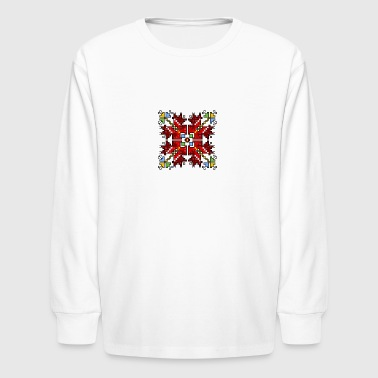Blooming - Kids' Long Sleeve T-Shirt