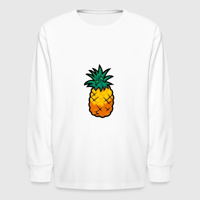 Smoothie Smash Pineapple - Kids' Long Sleeve T-Shirt